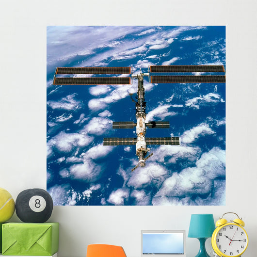 International Space Station Wall Decal Design 1