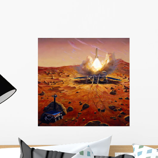 Mars Ascent Vehicle Starting Wall Decal