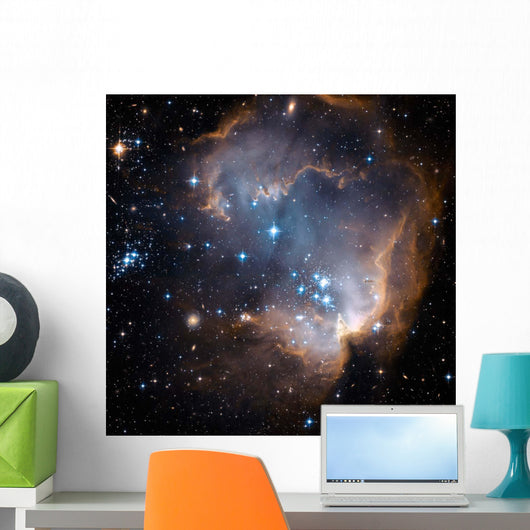 Newly Formed Stars Center Wall Decal