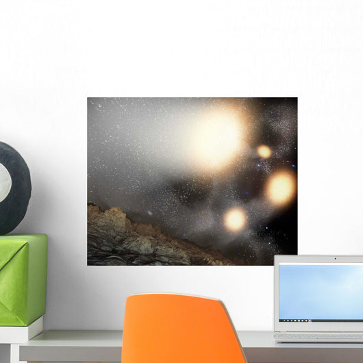 Night Sky as Seen Wall Decal