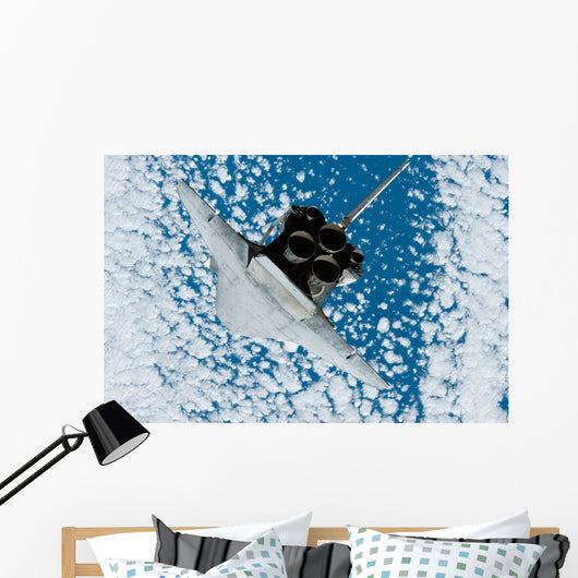 Space Shuttle Discovery Wall Decal Design 13
