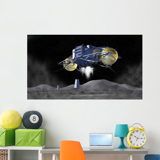 Artist's Rendering Future Space Wall Decal Design 4