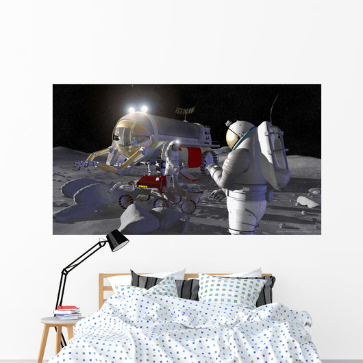 Artist's Rendering Future Space Wall Decal Design 6