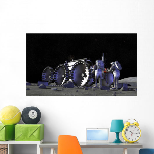Artist's Rendering Future Space Wall Decal Design 11