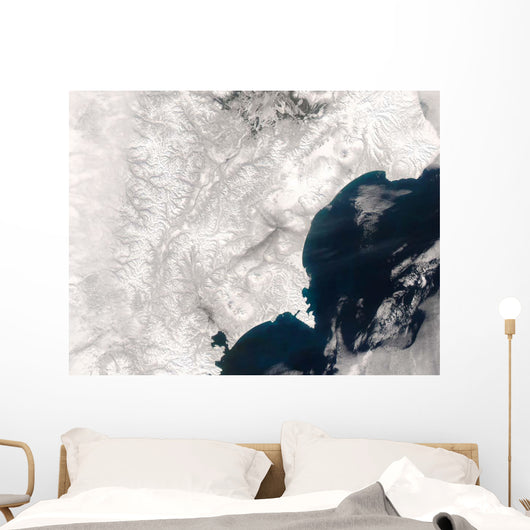 Ash from Karymsky Volcano Wall Decal
