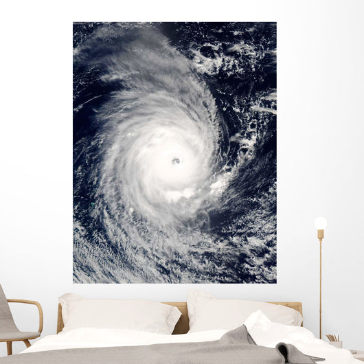 Cyclone Adeline-Juliet Moving West Wall Decal