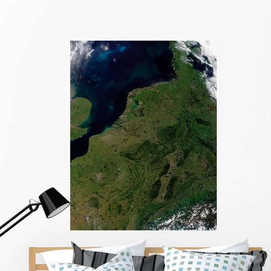 Low Countries Belgium Luxembourg Wall Decal