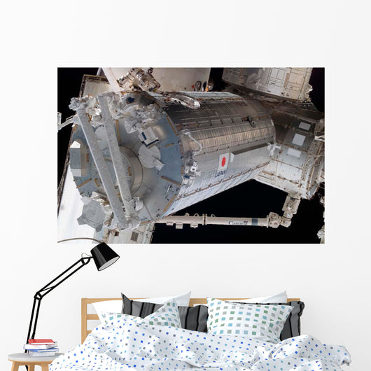 Japanese Pressurized Module Japanese Wall Decal