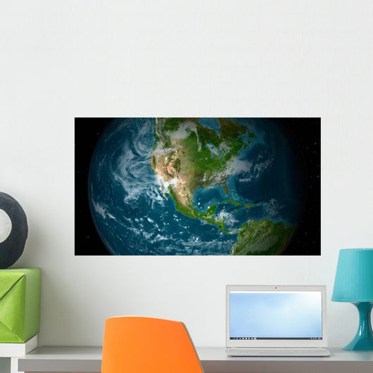 Central and North America Wall Decal
