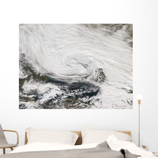 Storm over Black Sea Wall Decal