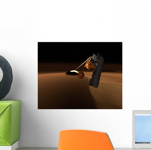 Concept for Mars Volcanic Wall Decal