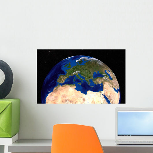 Blue Marble Next Generation Wall Decal Design 2