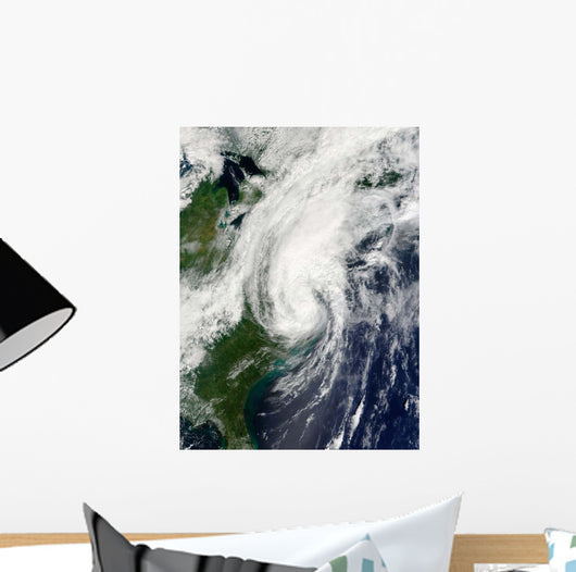 Tropical Storm Hanna over Wall Decal Design 2