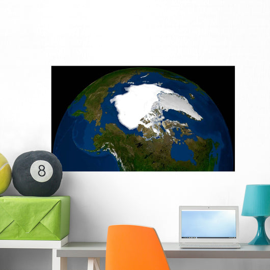 Arctic Sea Ice 2005 Wall Decal