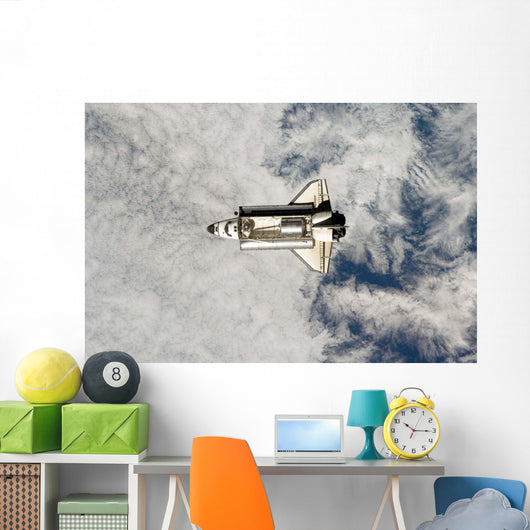Space Shuttle Endeavour Wall Decal Design 10