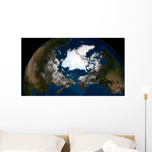 Arctic Sea Ice Wall Decal Design 2