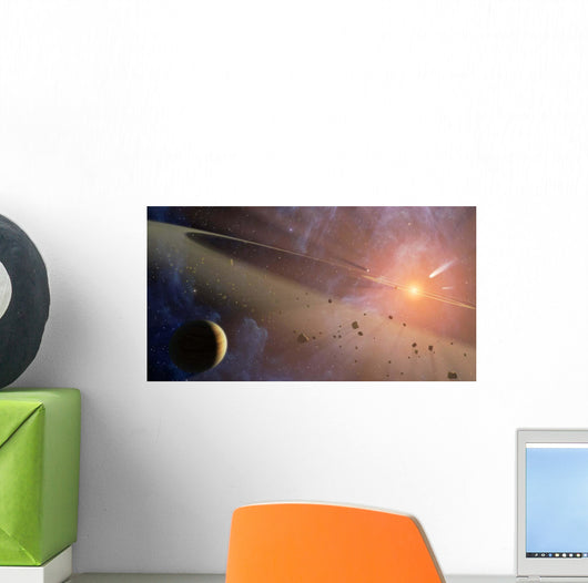 Planetary System Epsilon Eridani Wall Decal
