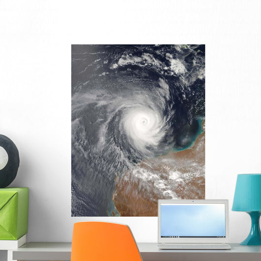 Tropical Cyclone Billy off Wall Decal
