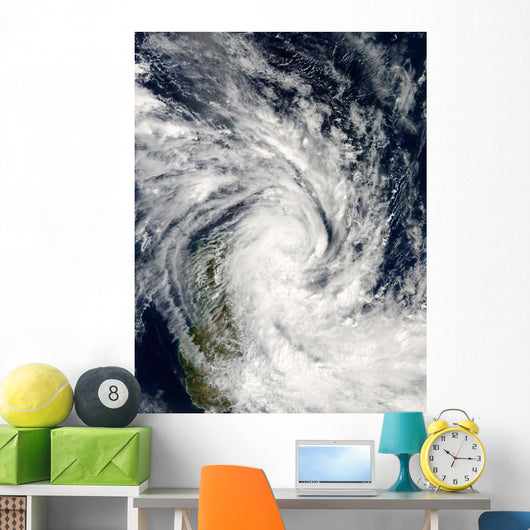 Tropical Storm Jade Coming Wall Decal