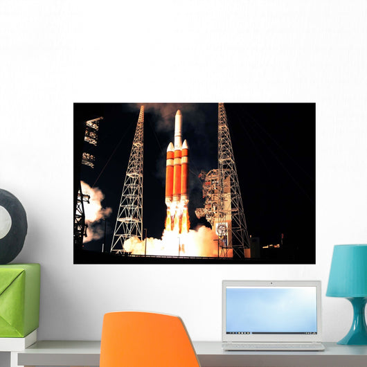 Delta Iv Heavy Rocket Wall Decal
