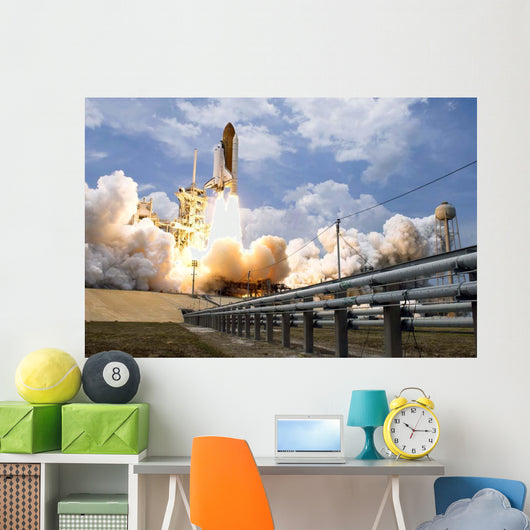 Space Shuttle Atlantis Lifts Wall Decal Design 34