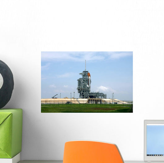 Space Shuttle Endeavour Launch Wall Decal Design 8