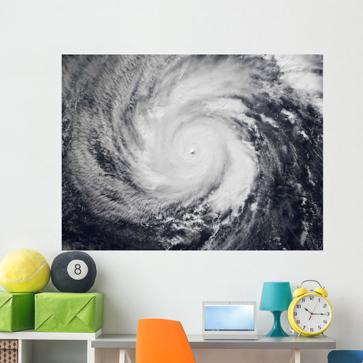 Typhoon Faxai Western Pacific Wall Decal