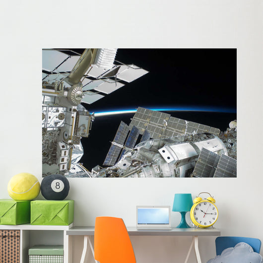 Portion International Space Station Wall Decal Design 3