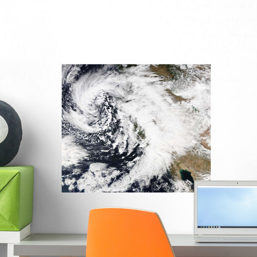 Series Strong Storms with Wall Decal Design 1