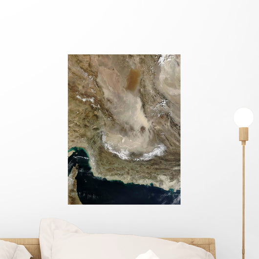 Dust Storm Iran Wall Decal
