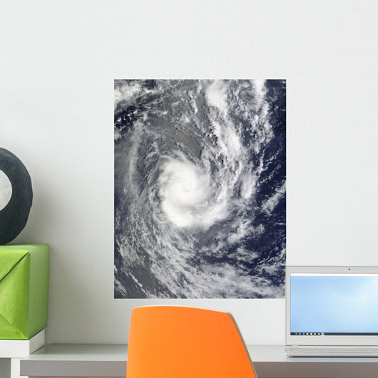 Tropical Cyclone Pat over Wall Decal