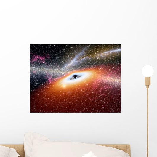 Supermassive Black Hole Wall Decal