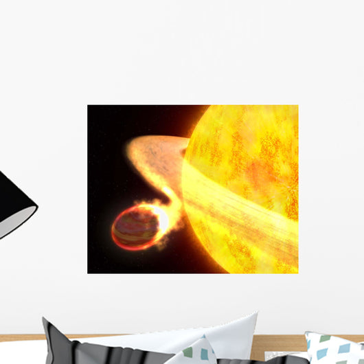 Hottest Known Planet Milky Wall Decal