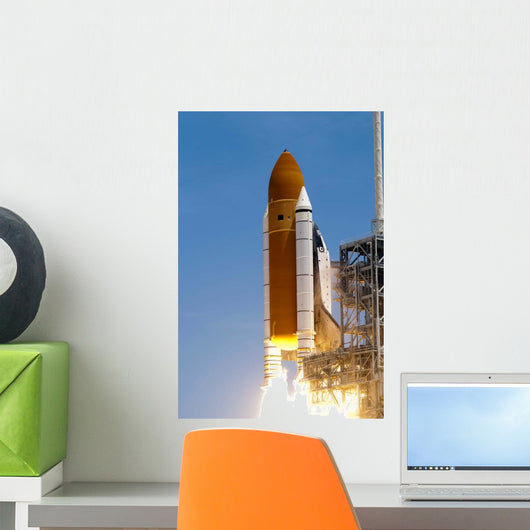 Space Shuttle Atlantis' Twin Wall Decal Design 1