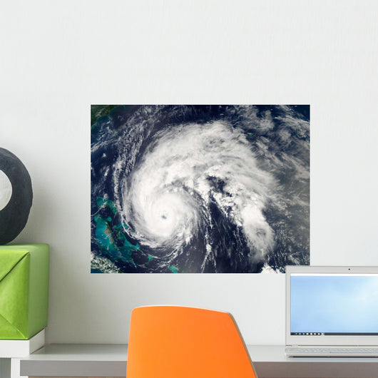 Hurricane Earl Wall Decal Design 7