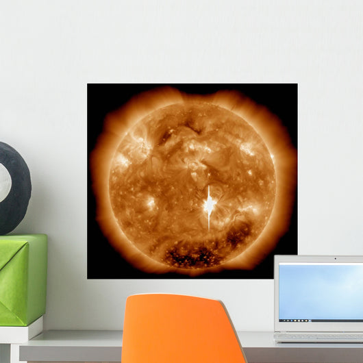 Massive X-class Solar Flare Wall Decal