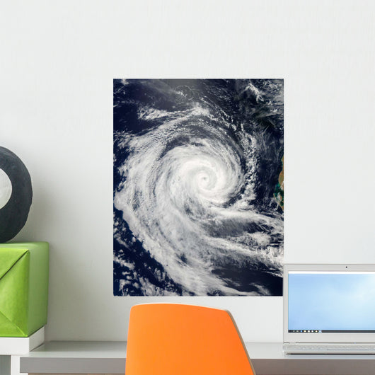 Tropical Cyclone Dianne Wall Decal Design 1