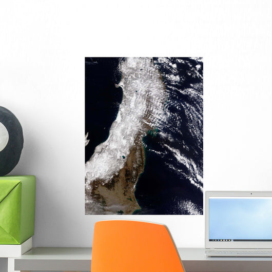 Satellite Northeast Japan Wall Decal