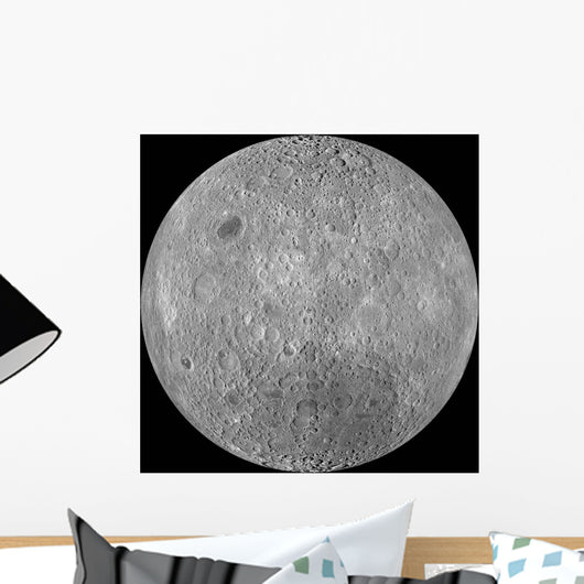 Far Side Moon Wall Decal