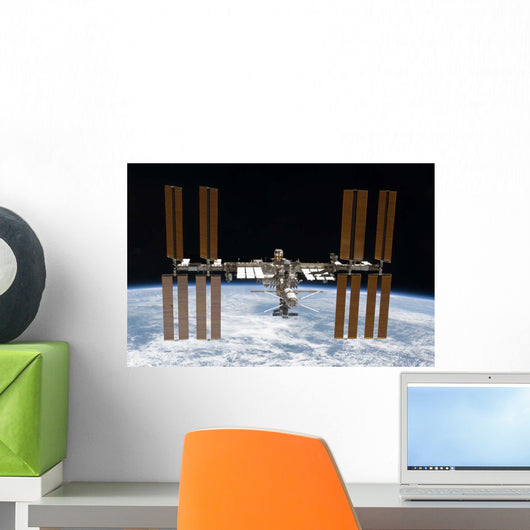 International Space Station Orbit Wall Decal Design 2