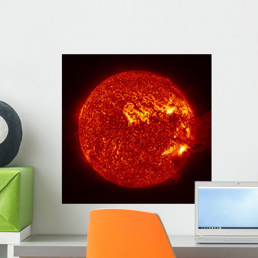 M-2 Solar Flare with Wall Decal Design 1