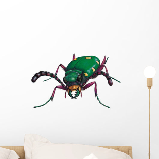 Tiger Beetle Wall Decal
