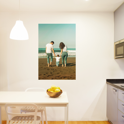 Custom Poster-Cut Wall Decal (Square and Rectangle)