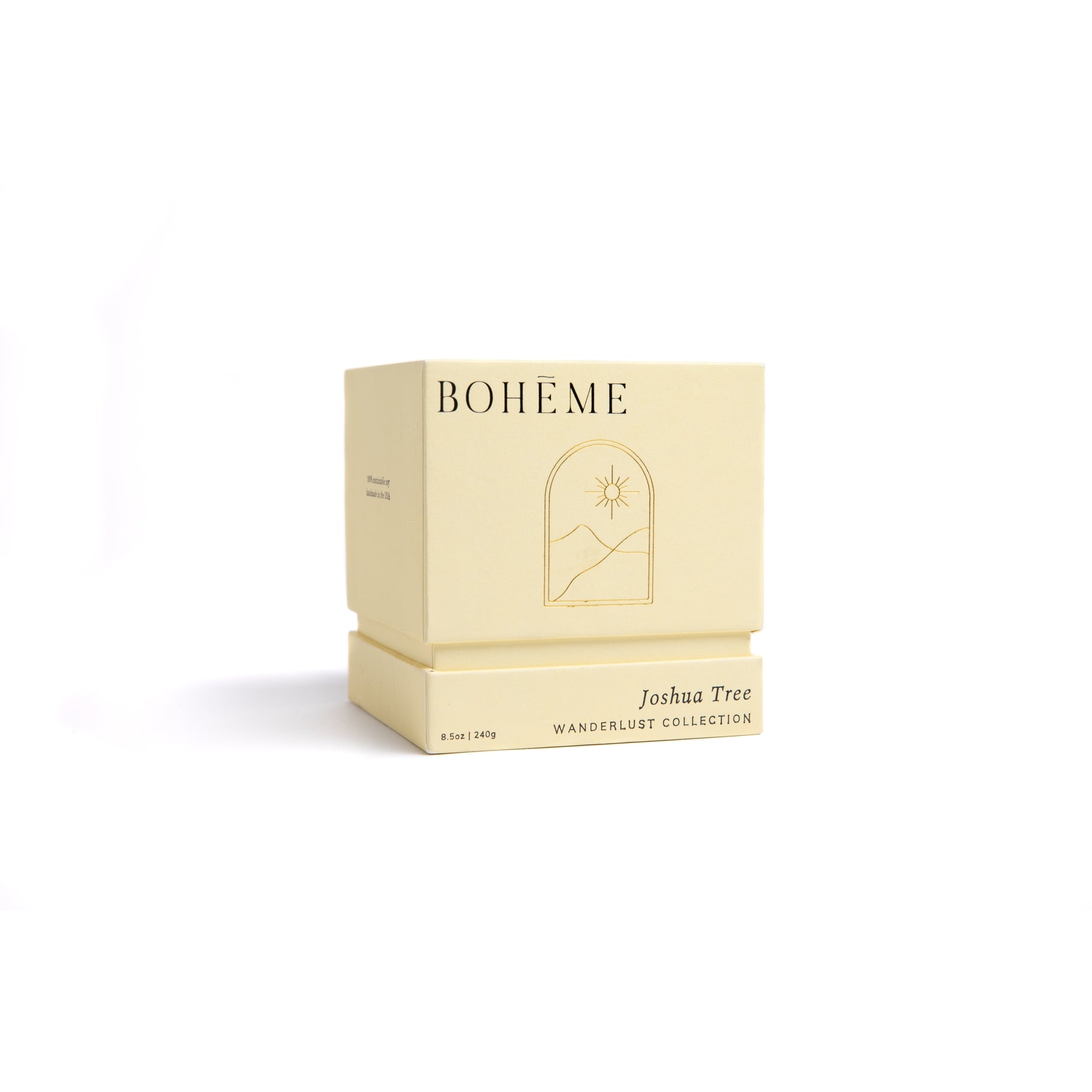 Bohéme Fragrances Wanderlust Collection Candle - Joshua Tree