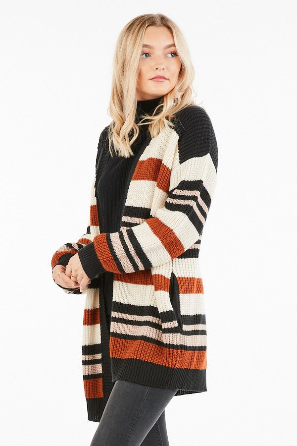 Oversized Cardigan Sweater