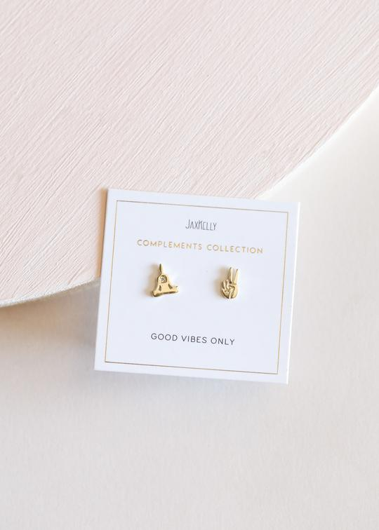 JaxKelly - Zen Earrings