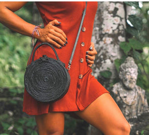 Milly Rattan Straw Bag