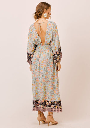 Spell On You Floral Maxi Dress