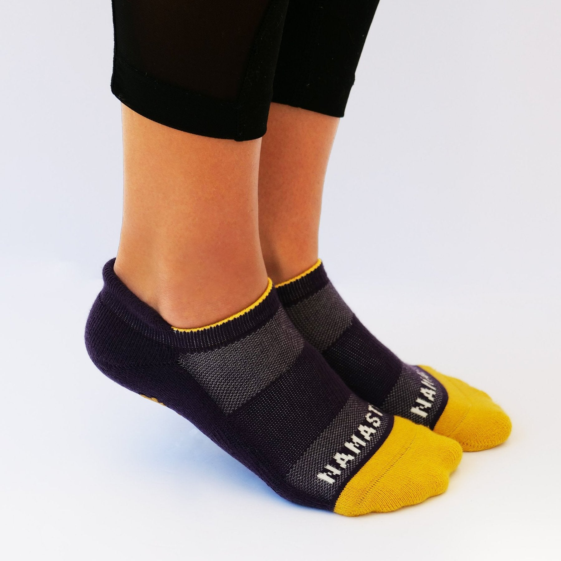 Hugs Brand - Namaste Stretch Grip Socks