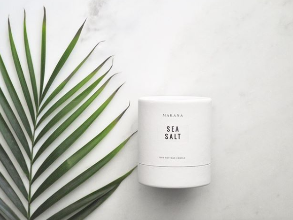 Makana Sea Salt Candle